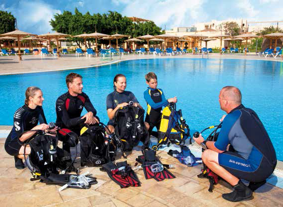 Dive Guide bei SSI