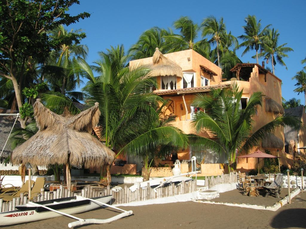 Das El Dorado Beach Resort in Dauin